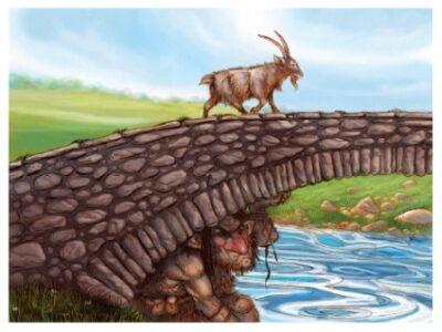 Было, да водой унесло (По мотивам норвежской сказки «Три козла и злобный тролль»)